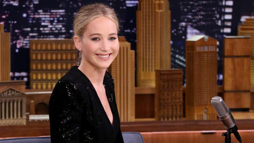 Jennifer Lawrence on 'Tonight Show'