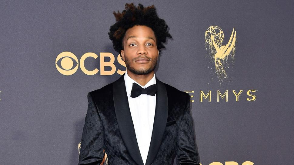Jermaine Fowler at the Emmys