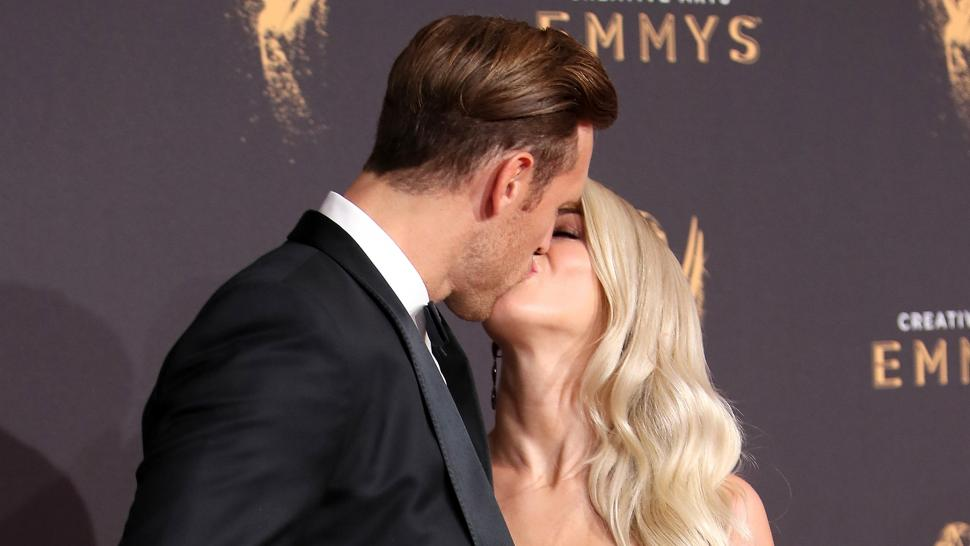 Julianne Hough and Brooks Laich at Creative Emmys 2017