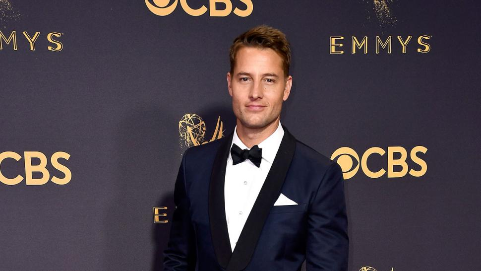 Justin Hartley at 2017 Emmys