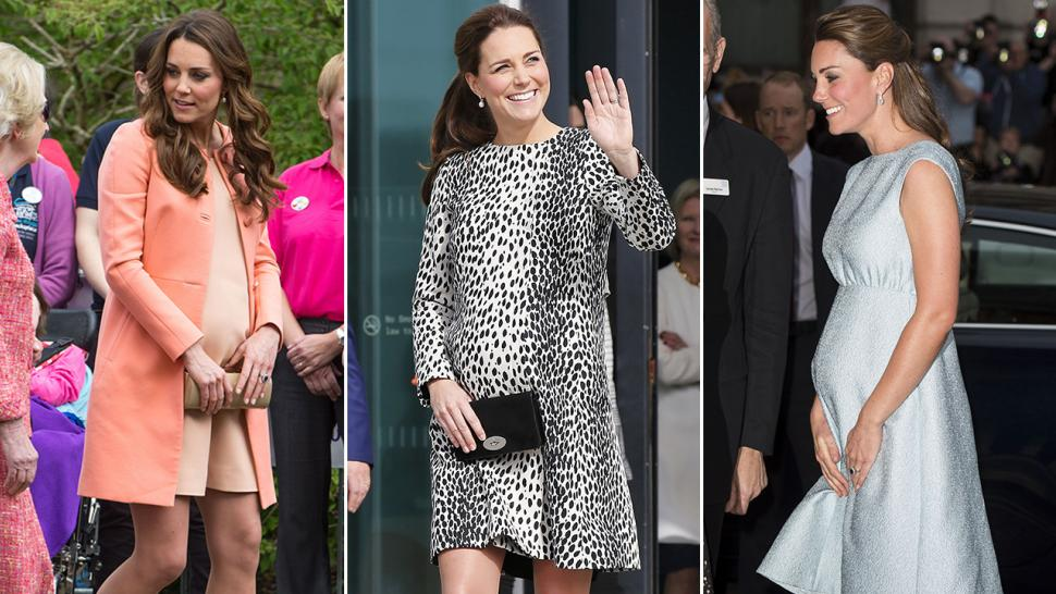 b842b4bec Kate Middleton s Top 10 Pregnancy Looks  See Her Regal Maternity ...