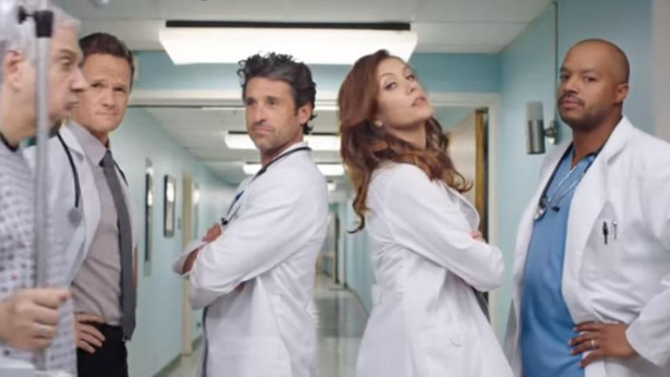 Kate Walsh and Patrick Dempsey Have Surprise \'Grey\'s Anatomy ...