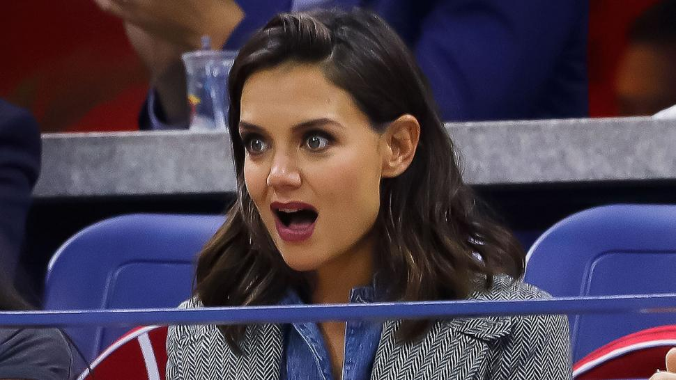 Katie Holmes at the US Open