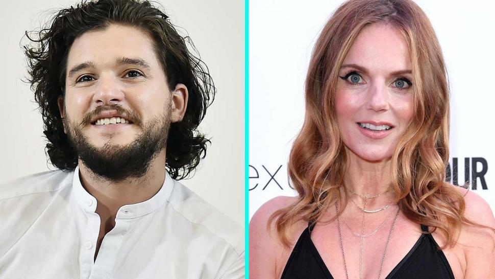 Kit Harington and Geri Halliwell