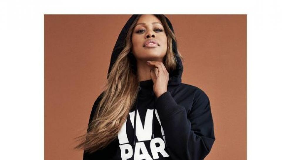 Laverne Cox in Ivy Park Collection