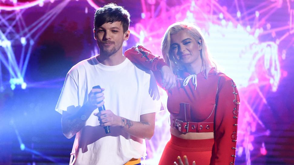 Louis Tomlinson Bebe Rexha Performance