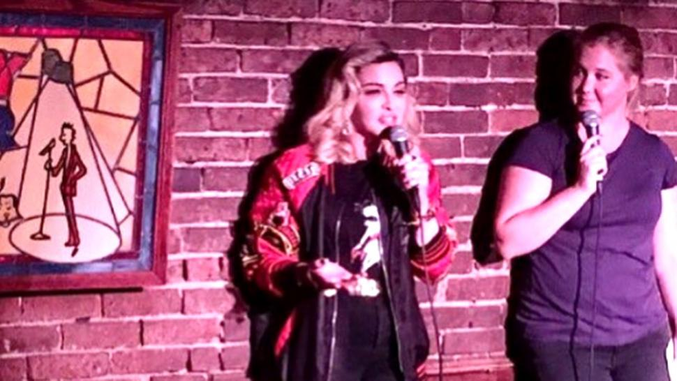 Madonna at the Comedy Cellar