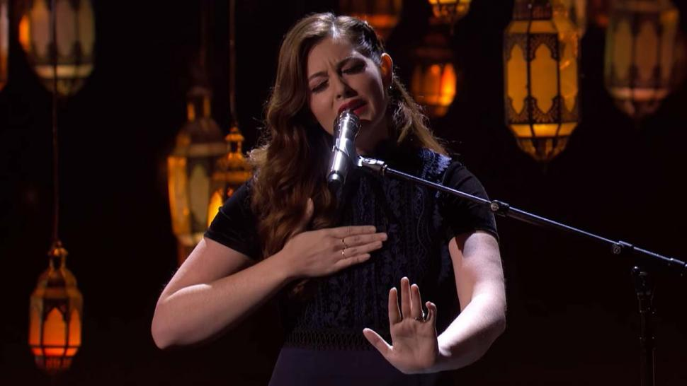Mandy Harvey on America's Got Talent