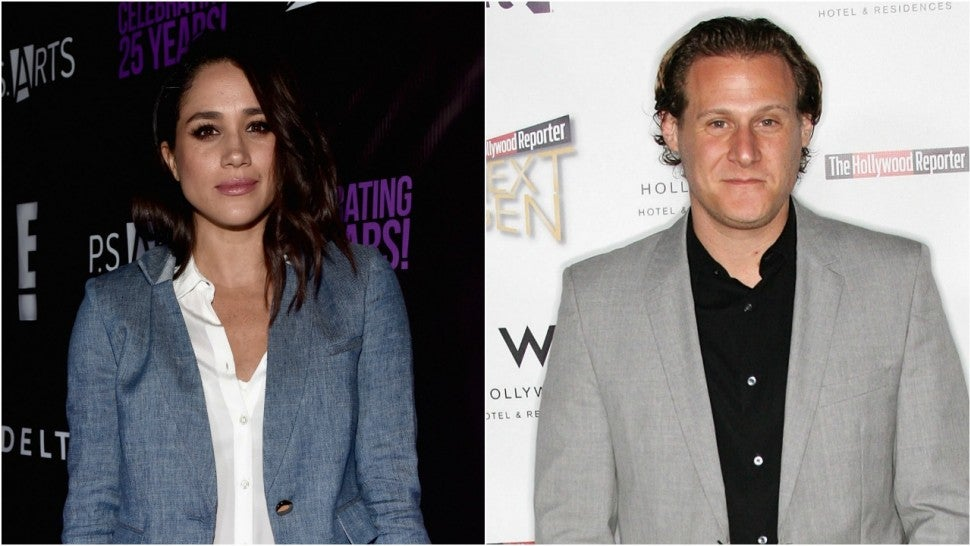 Meghan Markle and  Ex-Husband Trevor Engelson