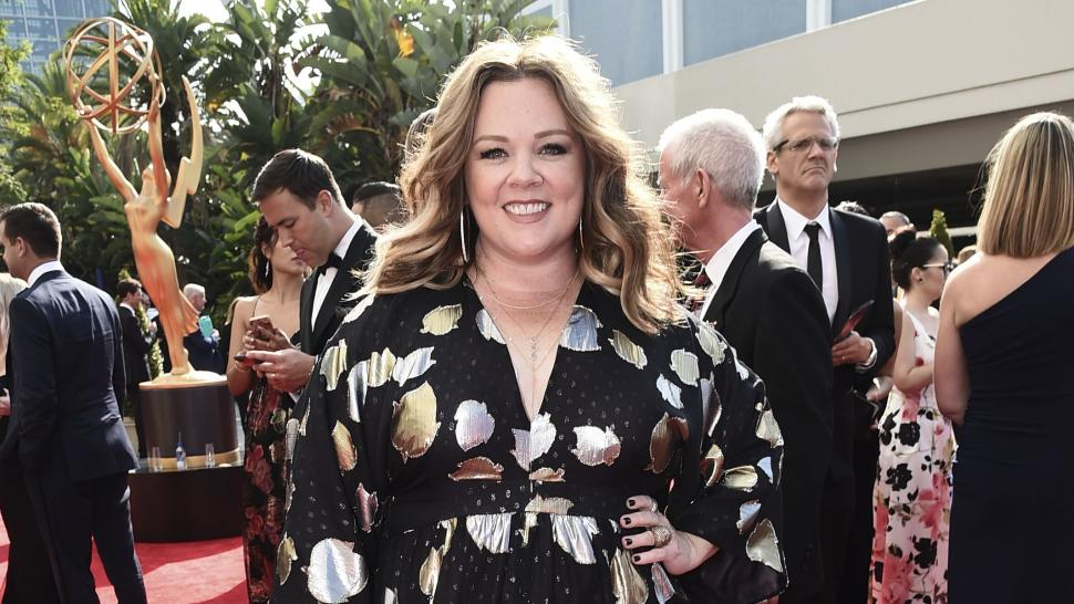 Melissa McCarthy at 2017 Emmys