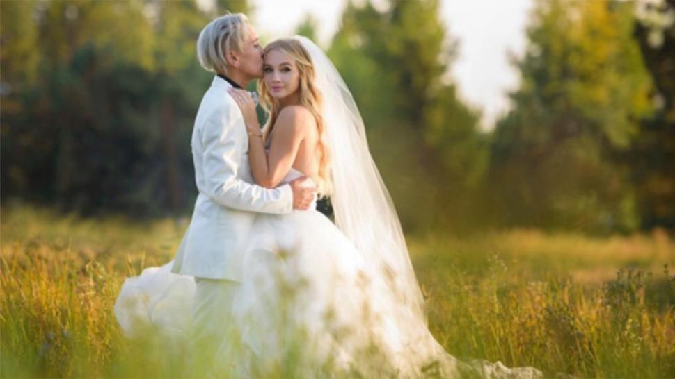 Mollee Gray marries Jeka Jane