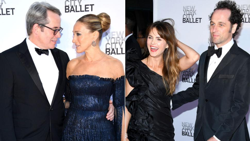 Sarah Jessica Parker and Keri Russell at NYC Ballet Gala