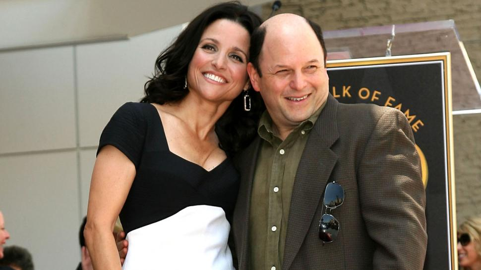Jason Alexander and Julia Louis-Dreyfus