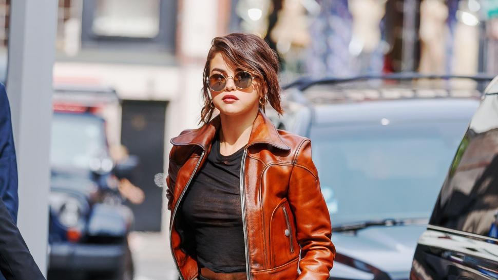 selena gomez stuns in super sheer top see her latest nyfw looks