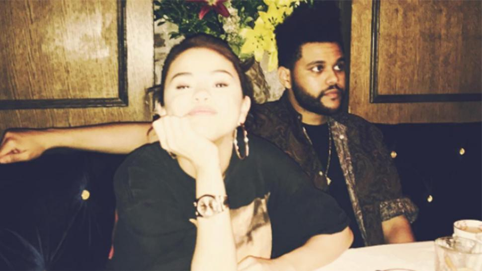 262d273112b247 Selena Gomez Shares Rare Instagram With The Weeknd on Dinner Date ...