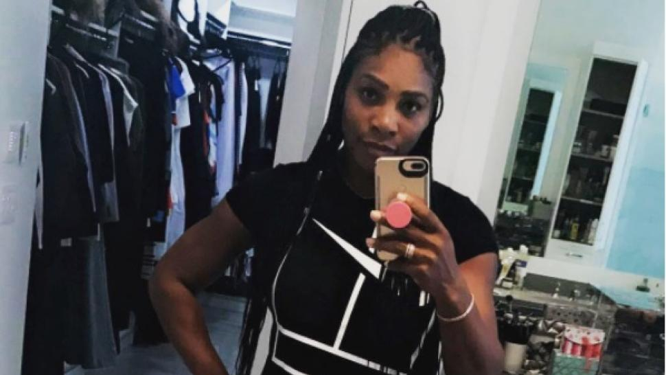 Serena Williams Post Baby Bod 092817