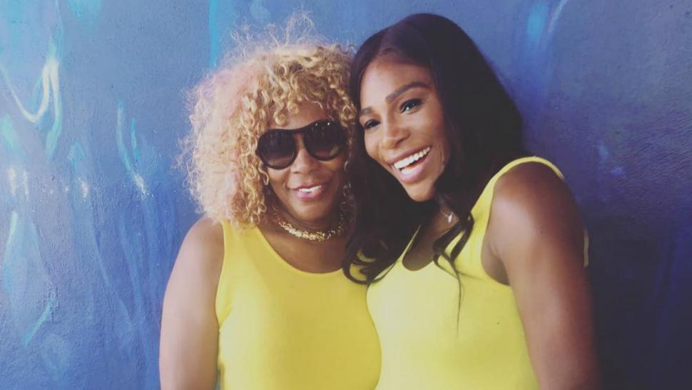 serena williams and mom