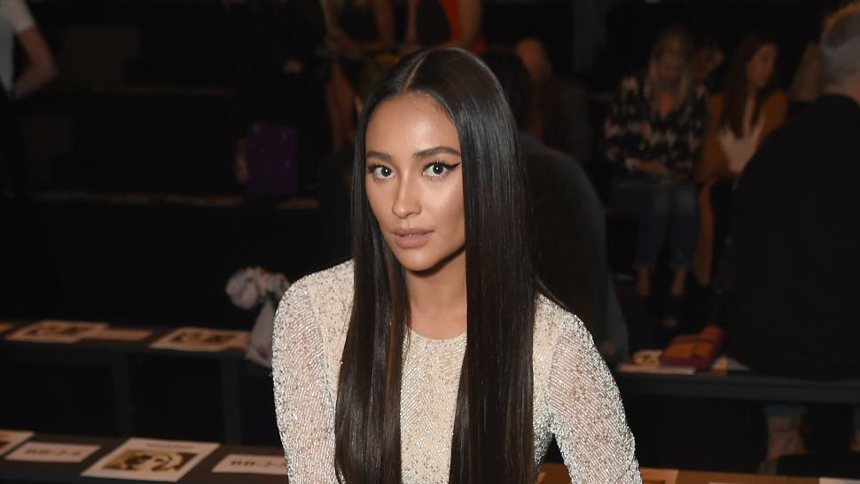 Shay Mitchell at NYFW