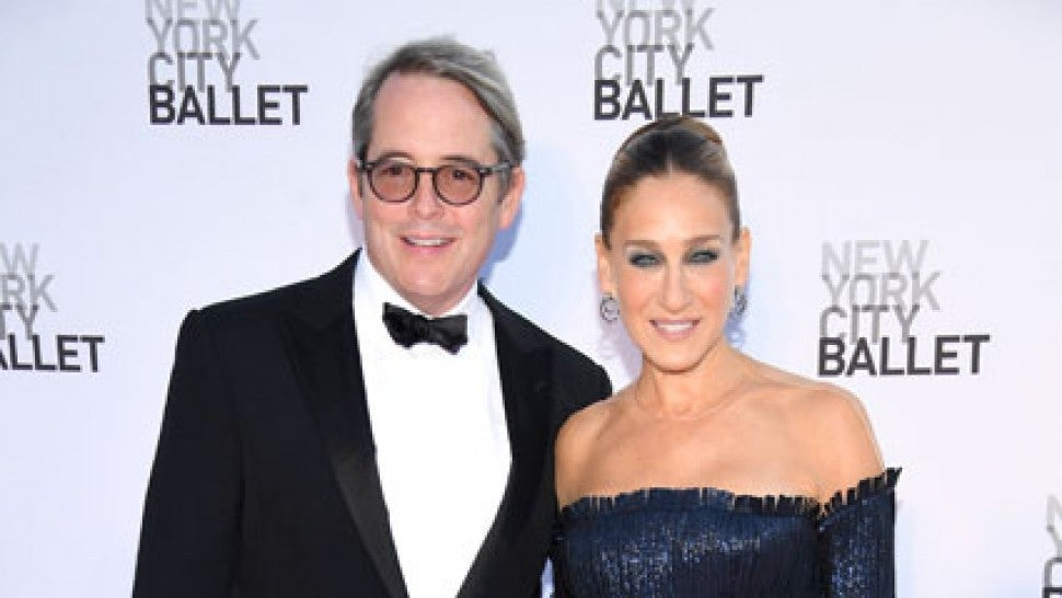 Sarah Jessica Parker Dishes on Husband Matthew Broderick's Role on 'The Conners' (Exclusive)