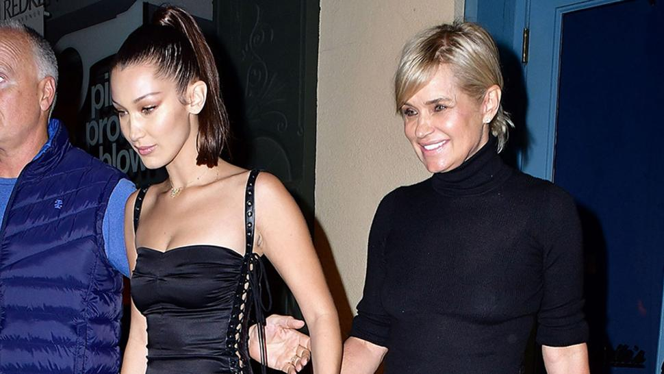 Yolanda Hadid talks Bella's love life