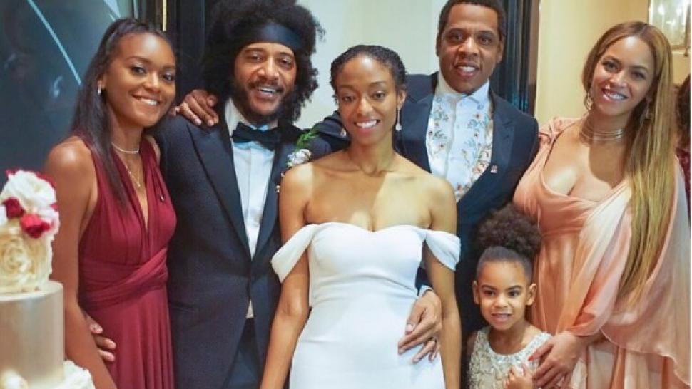 Beyonce Jay Z Blue Ivy Attend Friend S Wedding