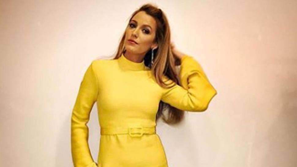 Blake Lively in yellow