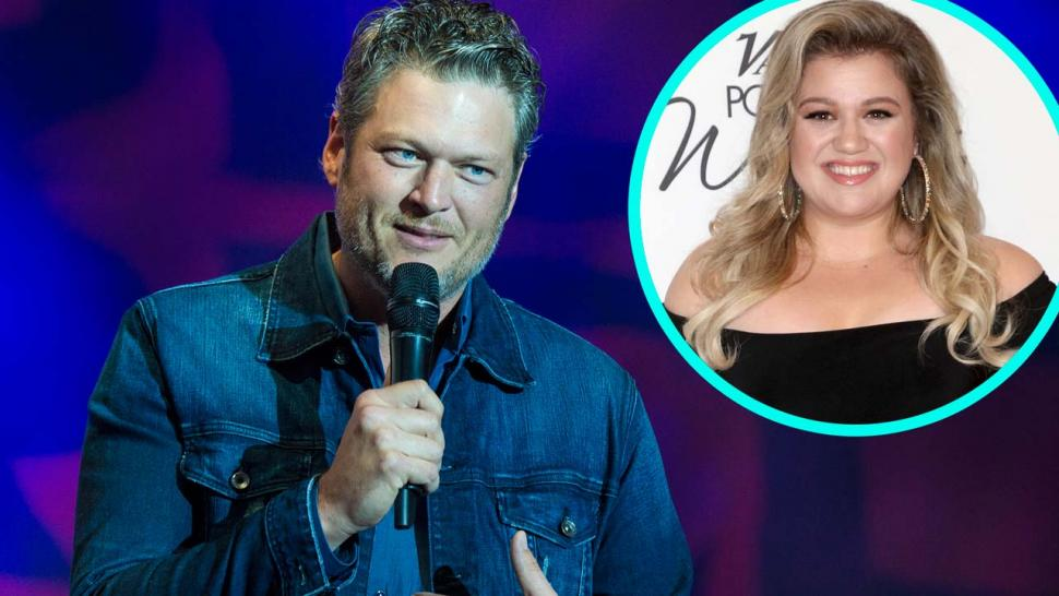 Blake Shelton and Kelly Clarkson