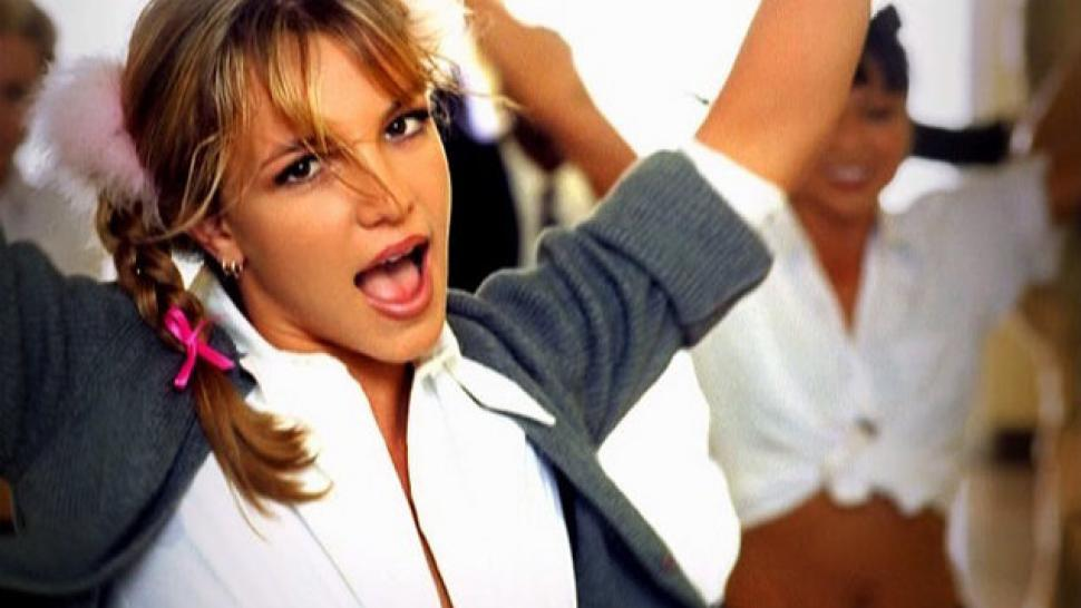 Britney Spears Baby One More Time Music Cd: Britney Spears Wears 'Baby One More Time'-Inspired Outfit