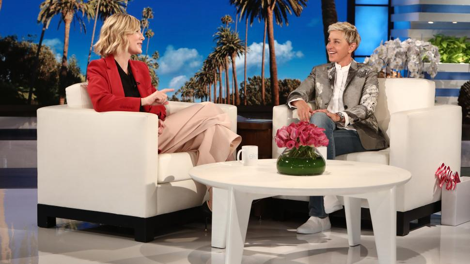 Cate Blanchett on 'The Ellen DeGeneres Show'