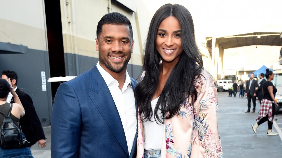 Ciara and Russell Wilson at One Voice: Somos Live!