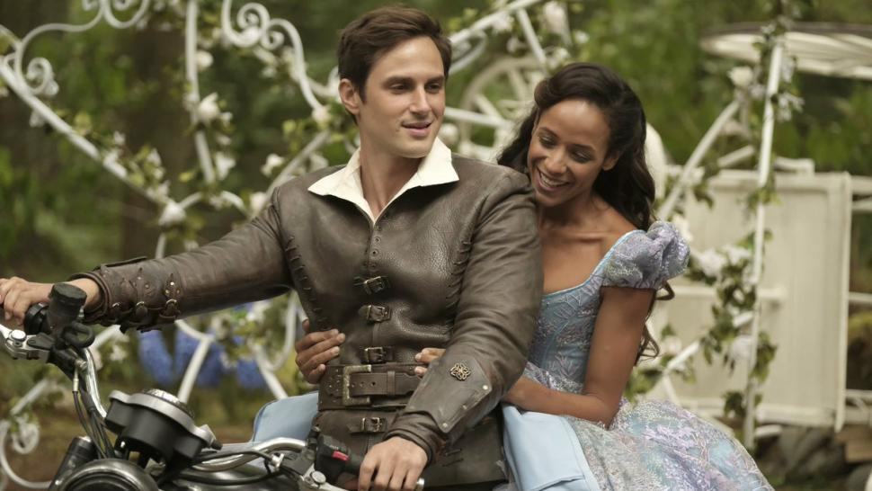 Dania Ramirez as Cinderella on 'OUAT'