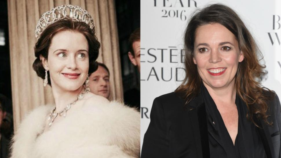 Claire Foy and Olivia Colman The Crown