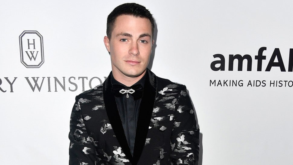 Colton Haynes rocks first Halloween costume