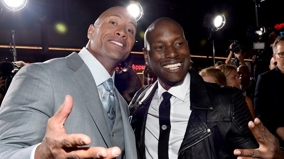 Tyrese Gibson Takes A Dig At Dwayne Johnson Over Hobbs