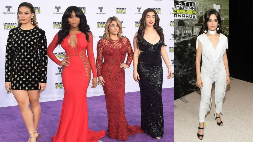 Fifth Harmony and Camila Cabello at the Latin American Music Awards 2017
