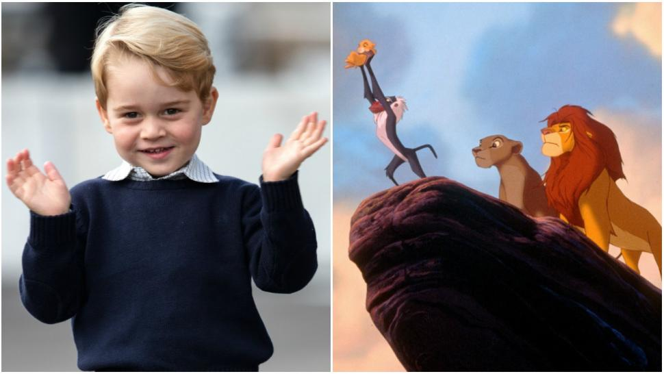 Prince George the Lion King movie