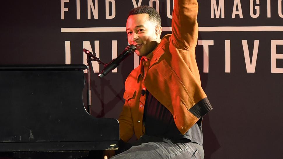 John Legend at Axe concert