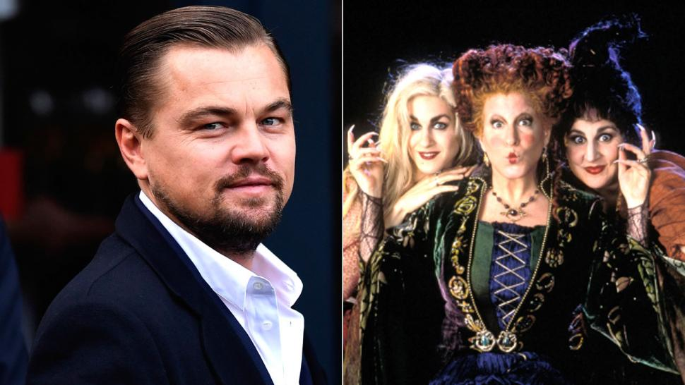 Leonardo DiCaprio auditioned for a role in Hocus Pocus but was too busy to say yes