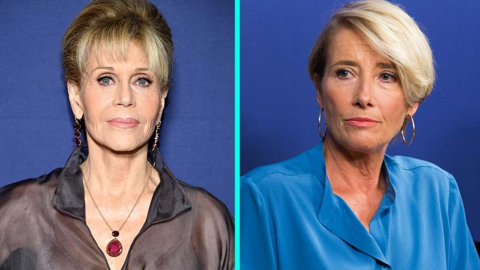 Jane Fonda and Emma Thompson