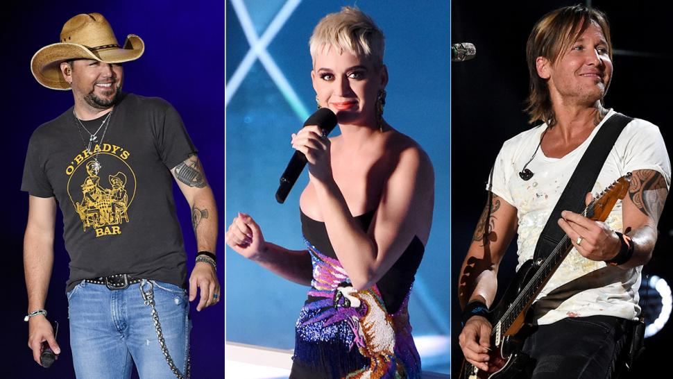 Jason Aldean, Katy Perry, Keith Urban and more inspire