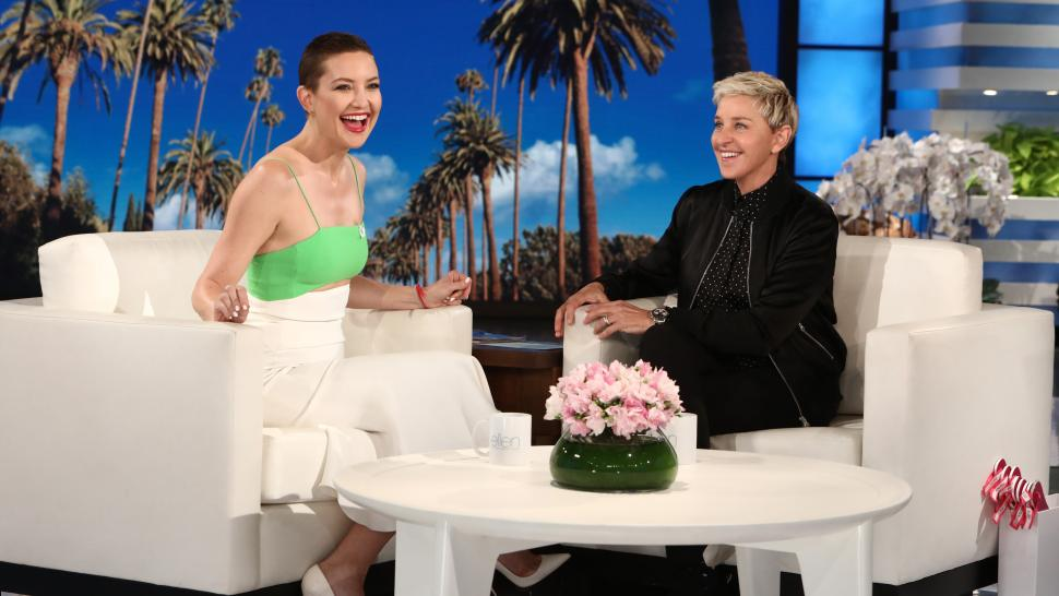 Kate Hudson on 'The Ellen DeGeneres Show'