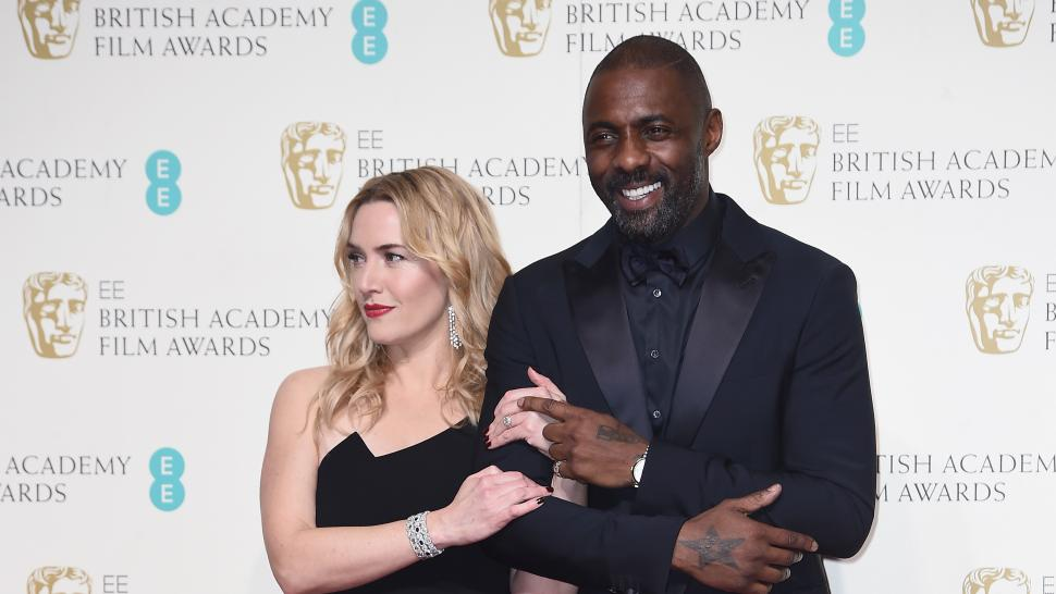 Kate Winslet and Idris Elba at the EE British Academy Film Awards