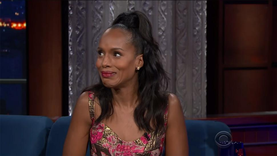 Kerry Washington talks her substitute teaching gig
