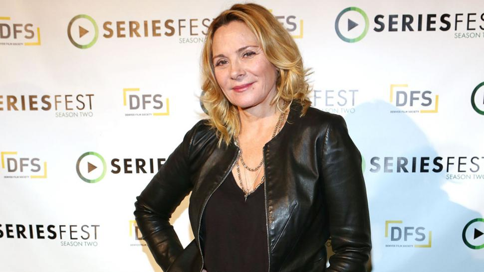 Kim Cattrall claps back online