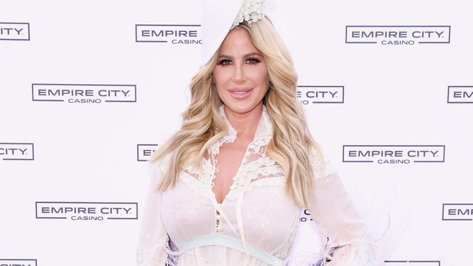 Kim Zolciak's daughter Kaia gets her ears pierced