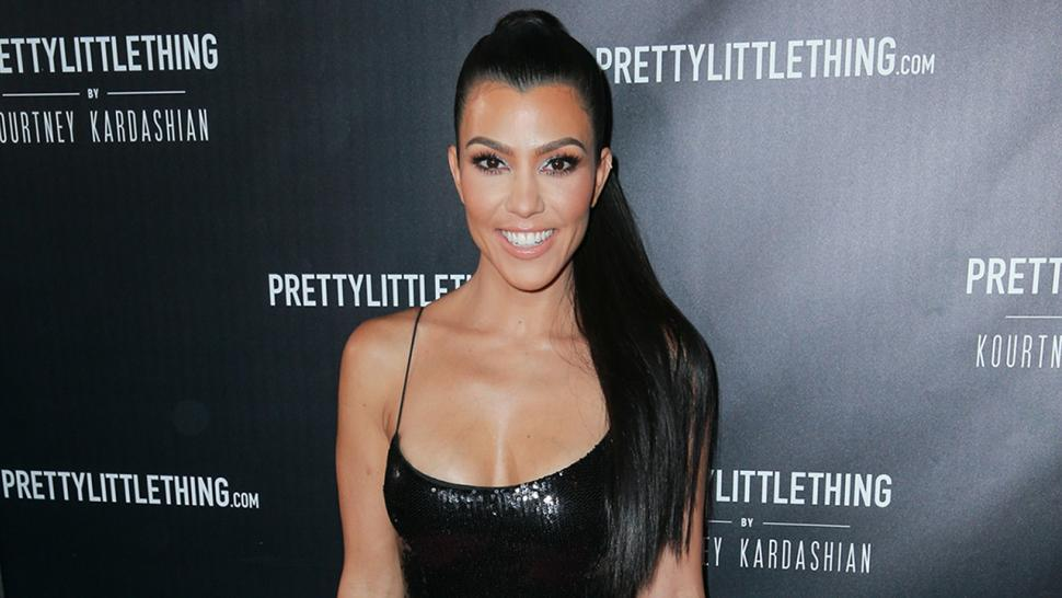 Kourtney Kardashian rocks LBD