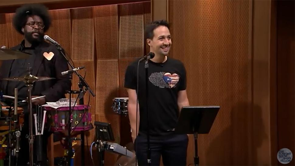 Freestylin' With The Roots Featuring Lin-Manuel Miranda on The Tonight Show Starring Jimmy Fallon