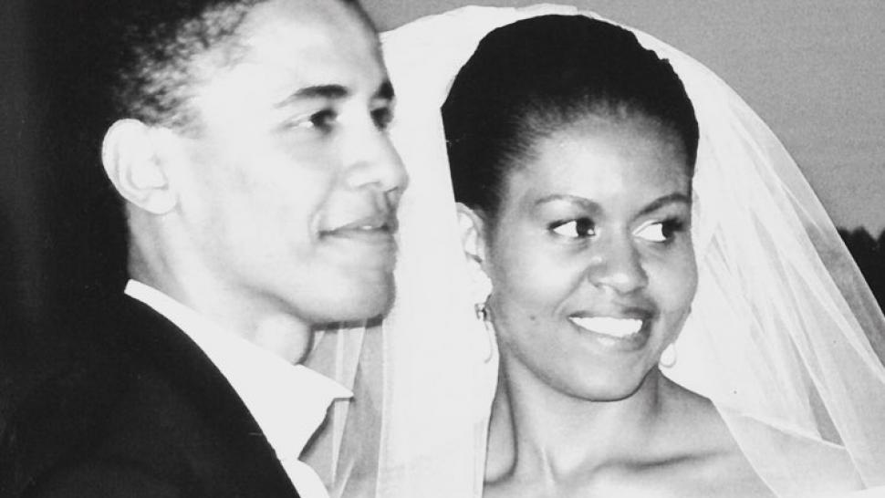 Michelle Obama Posts Sweet Message to Barack on 25th Wedding
