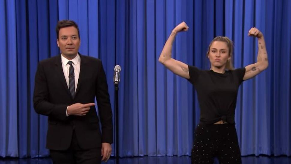 Jimmy Fallon and Miley Cyrus Lip Sync Battle