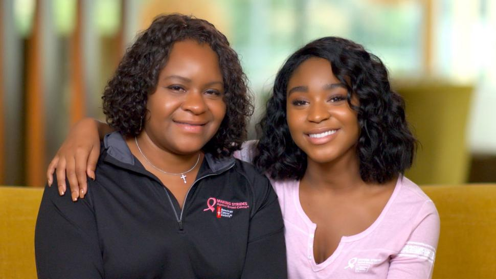 Normani Kordei and her mom